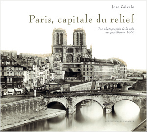"Editions de l'Amateur, couverture du livre ""Paris, capitale du relief"""
